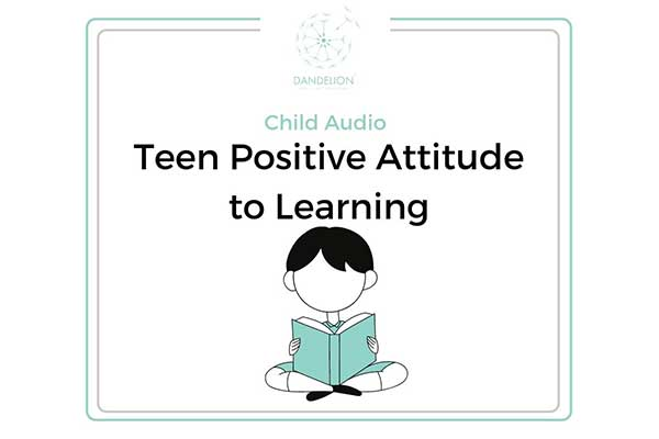 Teen Confident Attitude To Learning