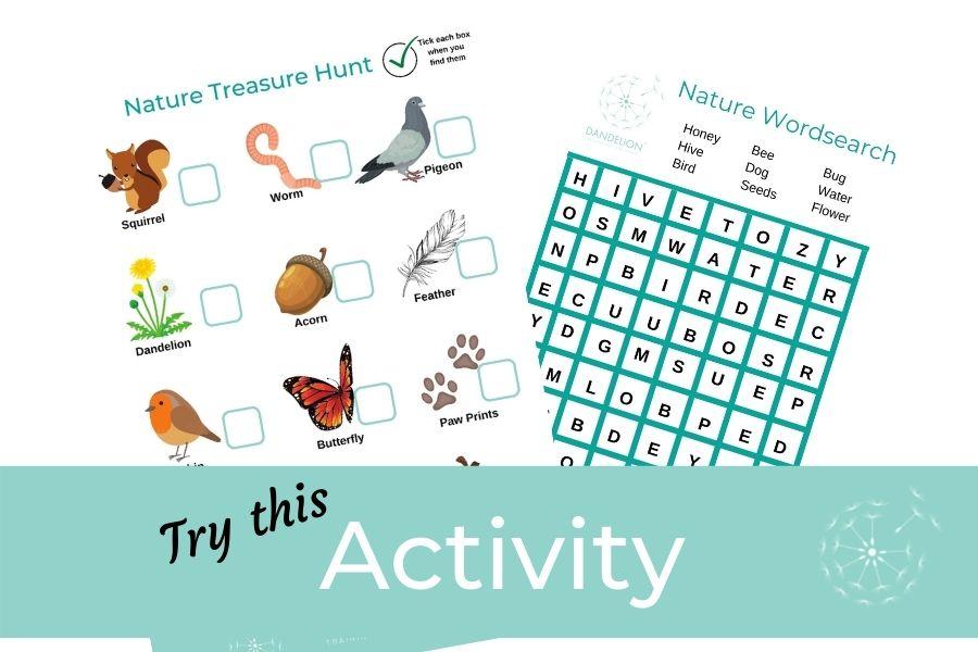 Children's Activity: Nature Activities For Mental Health