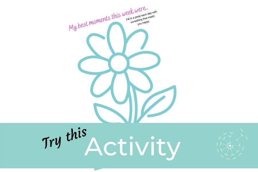 Children's Activity: Positivity Flowers