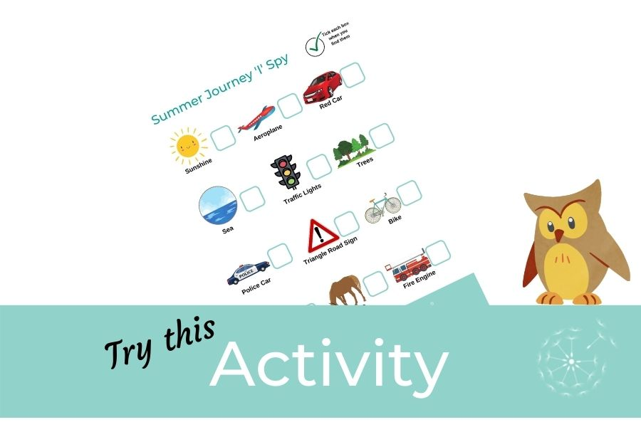 Children's Activity: Summer Journey 'I' Spy