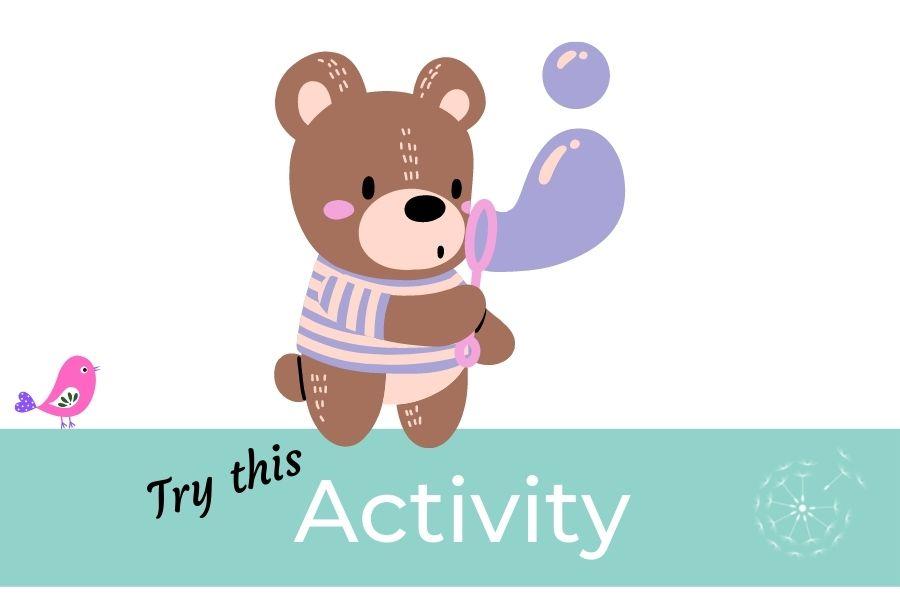 Children's Activities: Bubble Breathing